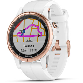 Garmin Fenix 5S Plus Sapphire GPS Smartwatch white/rose gold